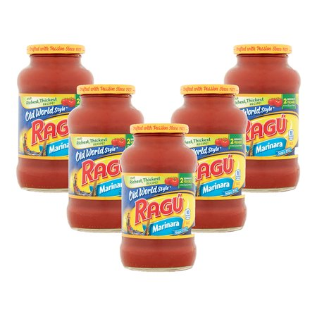 (5 Pack) Ragú Old World Style Marinara Pasta Sauce 24