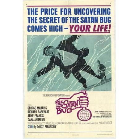 Posterazzi MOVGH4264 The Satan Bug Movie Poster - 27 x 40 in. - image 1 de 1