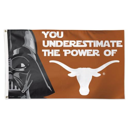 Texas Longhorns Star Wars 3' x 5' Pole Flag