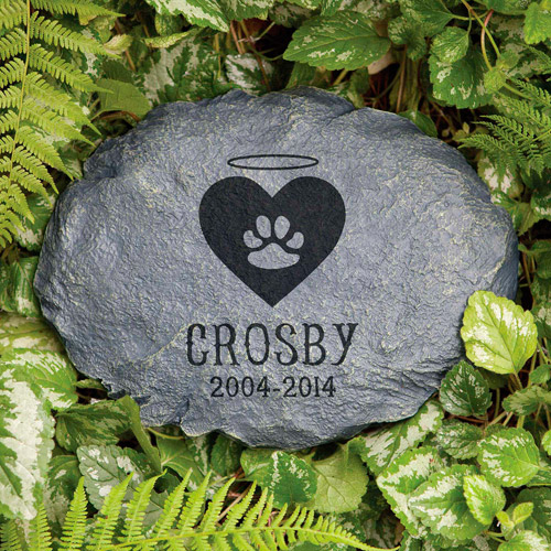 Personalized beloved friend cat memorial garden stone - Discount tire garden of the gods ...