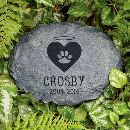 Personalized Beloved Friend Cat Memorial Garden Stone ()