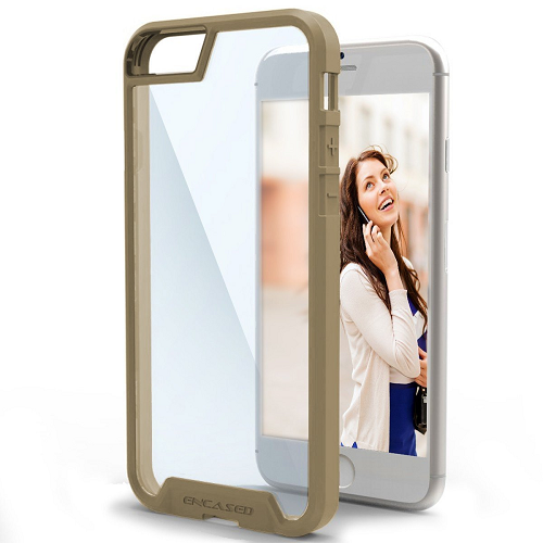 Scratch Proof Clear Back Case for iPhone 6 PLUS / 6S PLUS (By Encased)