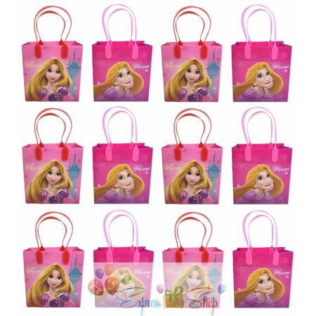 Princess Rapunzel 12 Authentic Licensed Party Favor Reusable Medium Goodie Gift Bags 6
