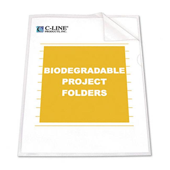 C-LINE 99627 Ecological Project Folders  Polypropylene  L...