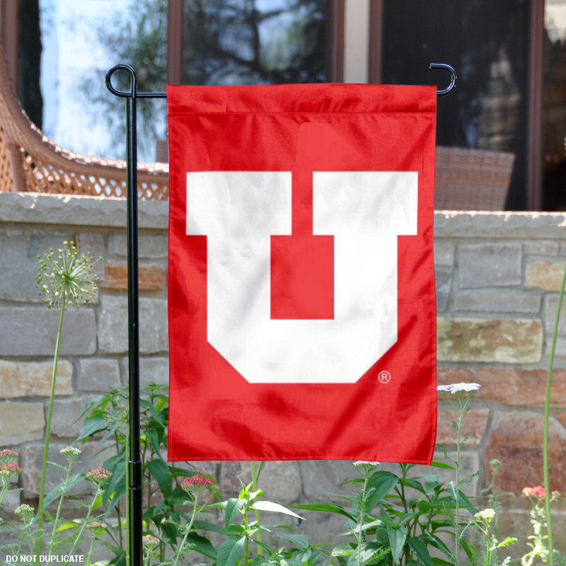 "Utah Utes Big U 13"" x 18"" College Garden Flag"