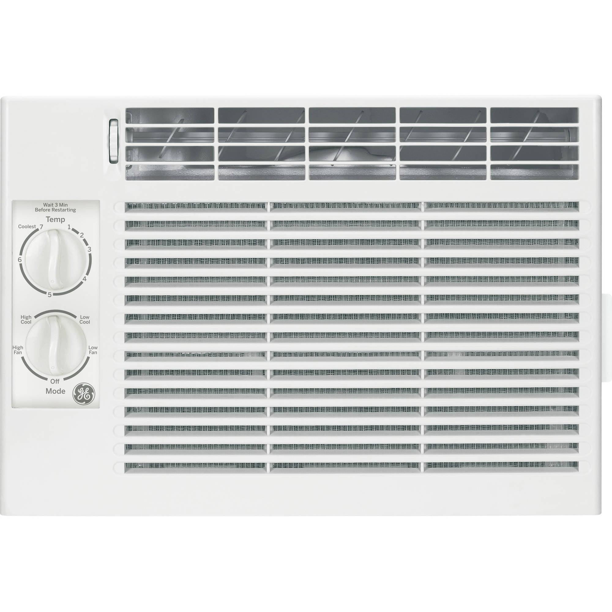 General Electric 5,000 BTU Window Air Conditioner, 115V, GE AEY05LV