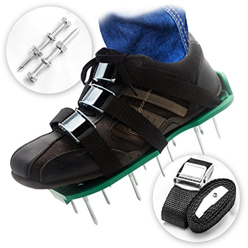 Already Assembled Lawn Aerator Shoes | Ready to Use Premi...