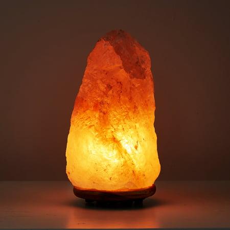 Himalayan Natural Glow Pink Salt Lamp, Large, 7-10 LBS - Omni Glow
