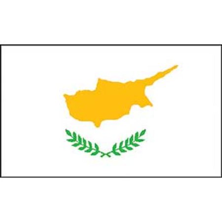 Cyprus Flag On A Stick 12