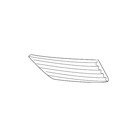 Genuine OE Honda Side Panel 71107-TG7-A00
