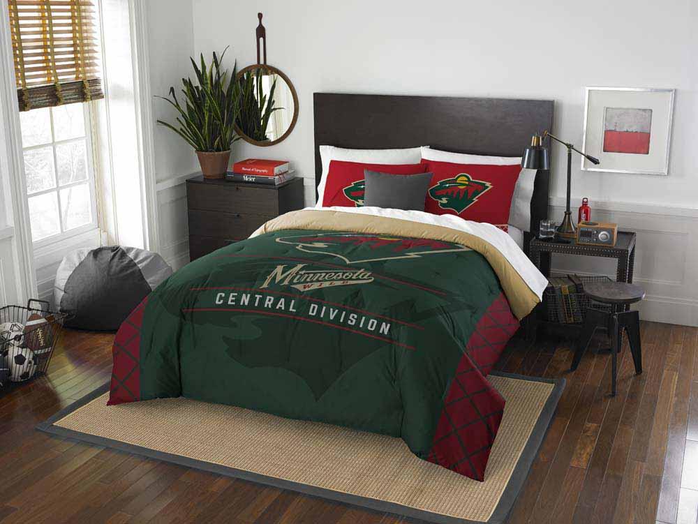 Minnesota Wild The Northwest Company Nhl Draft Twin Comforter Set