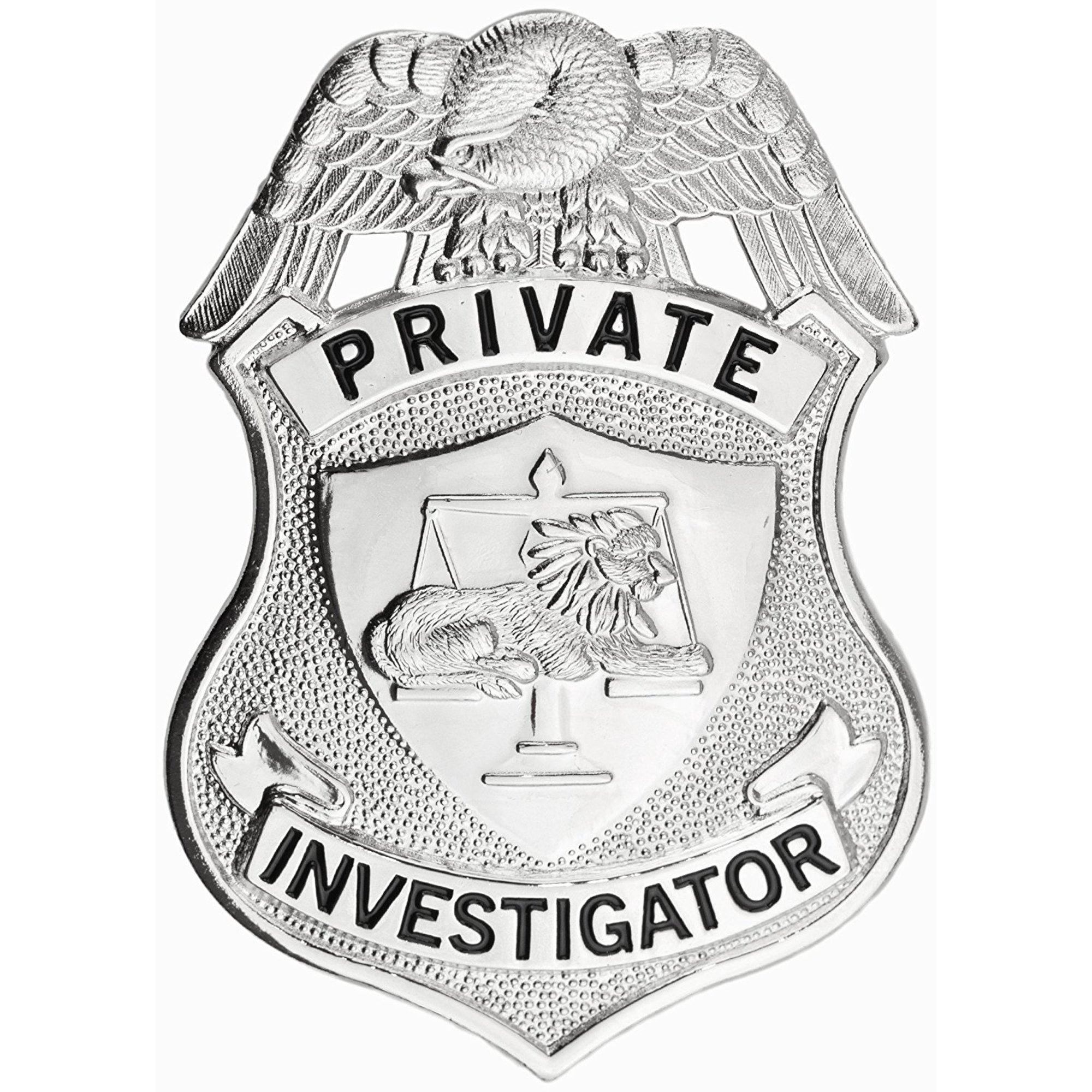 93485fb5a32 Tactical 365® Operation First Response Private Investigator Shield Badge -  Nickel