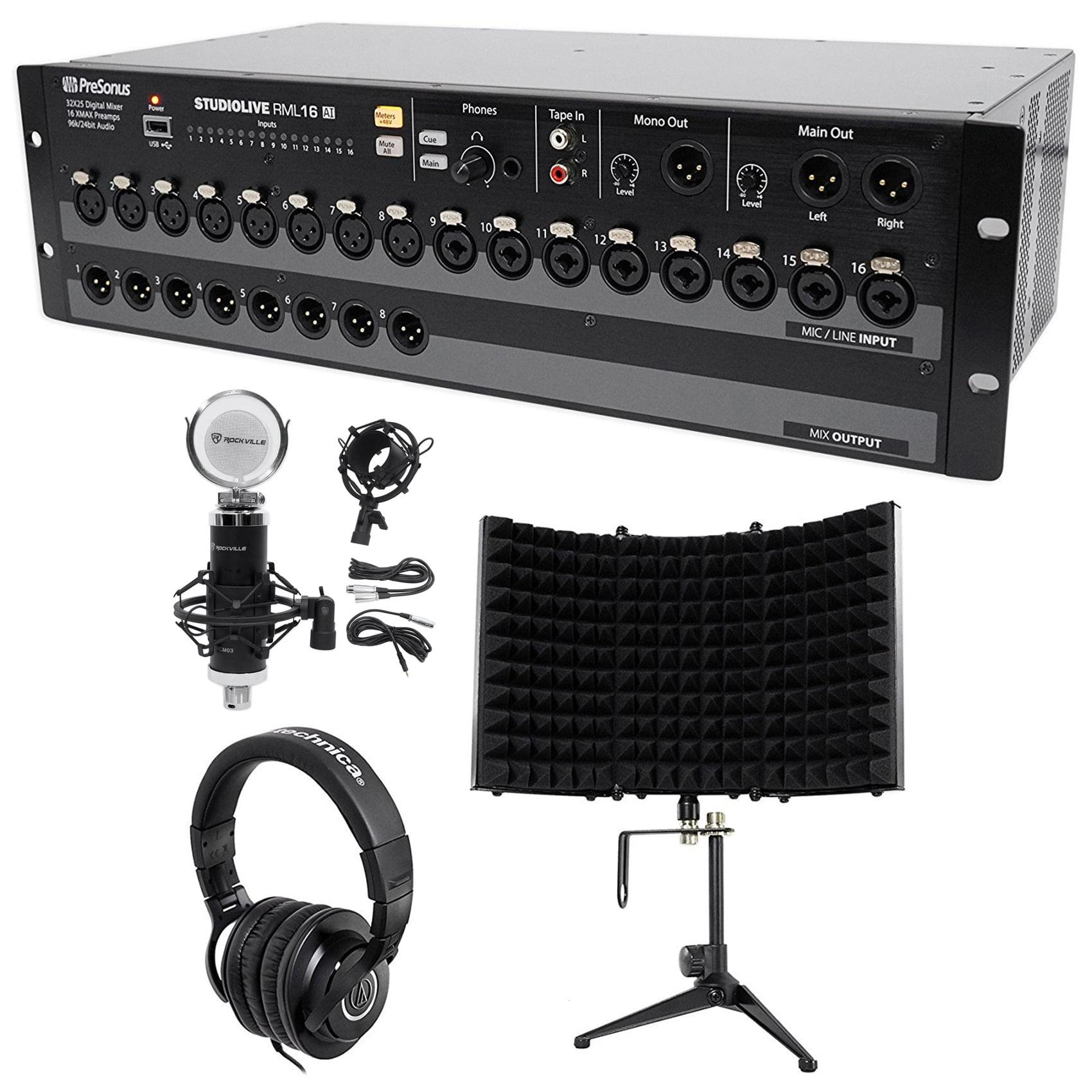 PreSonus StudioLive RML16AI 16-Ch. Digital Mixer+Micropho...