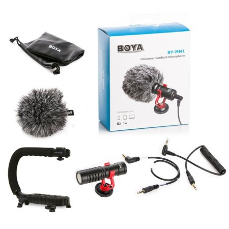 Cam Caddie Scorpion Jr Boya Mm1 Microphone Bundle For Iphone