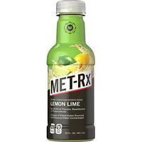 MET-Rx Super Hydration Sports Drink - Lemon Lime - 12- 20 oz Bottles