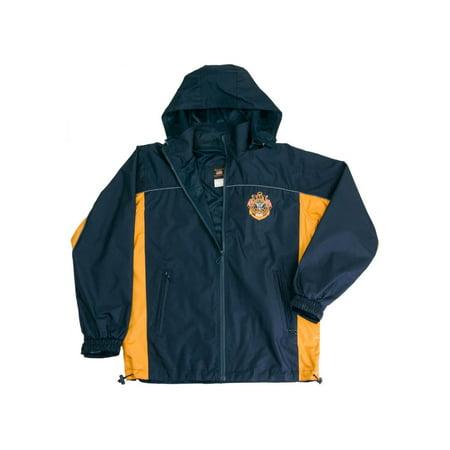 Knuckle Breaker - US NAVY Hooded Light Weight Rain Resistant Wind Breaker Jacket