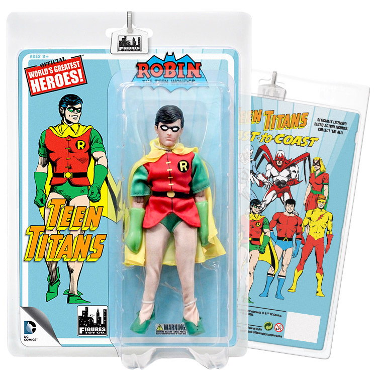 Teen Titans Retro 7 Inch Action Figures Series Two: Robin by