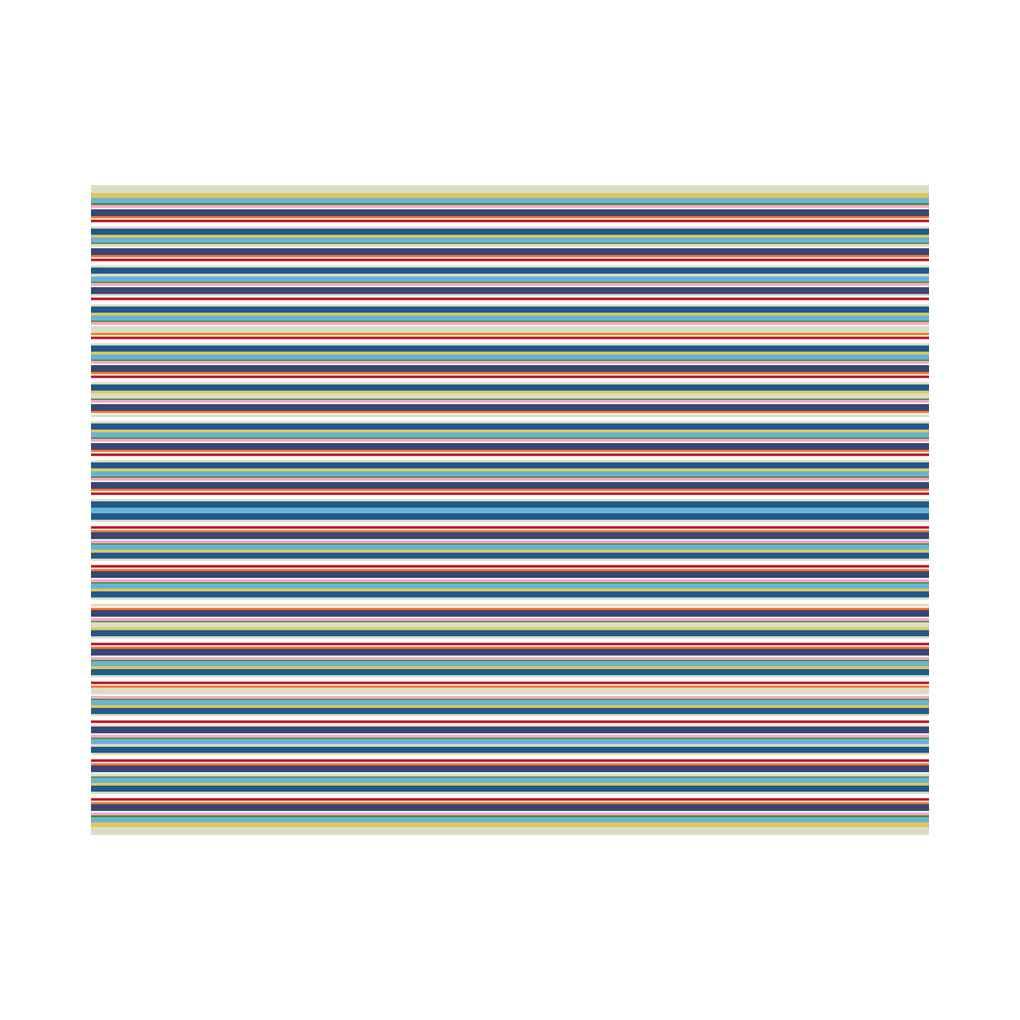 Peva Table Cloth Stripe Printed Table Covers Waterproof Oilproof