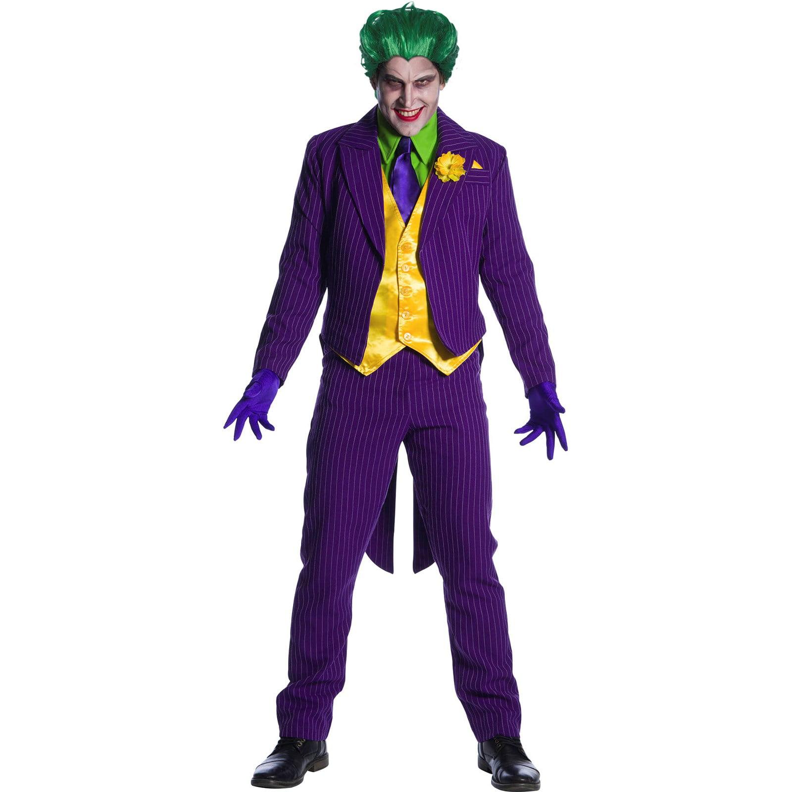 Mens Joker Halloween Costume