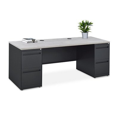 Carbon Storage Credenza 72 Quot W Gray Wash Maple Walmart Com Walmart Com