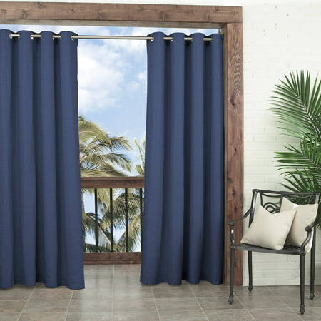 Parasol Key Largo Solid Indoor Outdoor Window Curtain - Outdoor Window