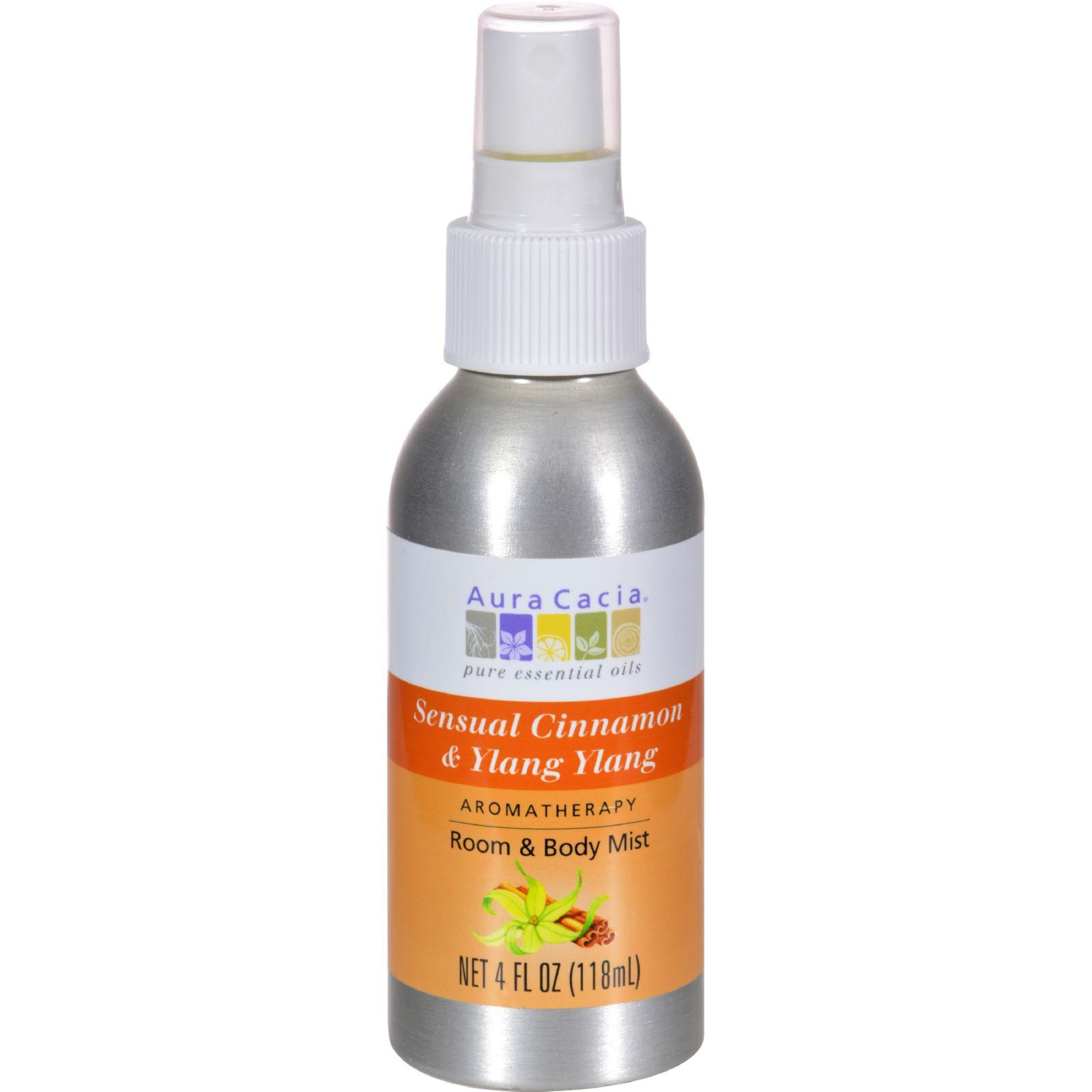 Aura Cacia Aromatherapy Mist Cinnamon Ylang Ylang - 4 fl oz