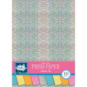 "Colorbok 8.5"" Prismatic Summer Fun Paper Pad, 10 Piece"