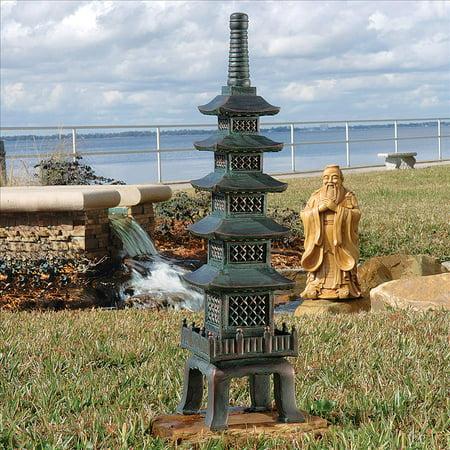 Design Toscano The Nara Temple Asian Garden Pagoda Sculpture: Large ()