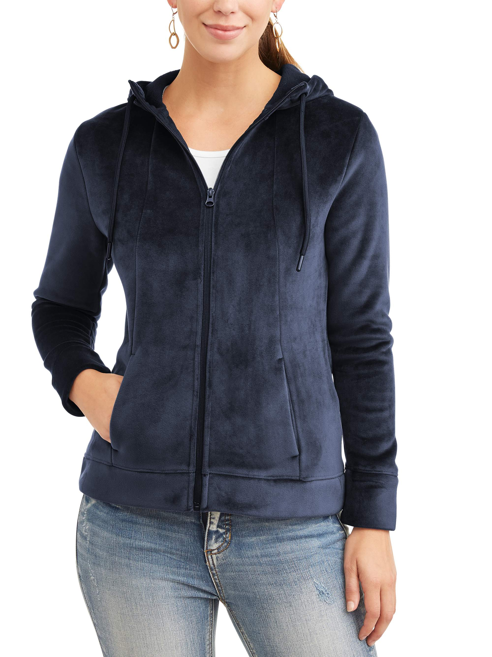 Time and Tru Women's Velvet Jacket