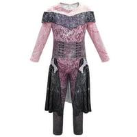 Wayren USA Descendants 3 Audrey Costume Jumpsuit for Girls Cosplay Costumes Halloween Party