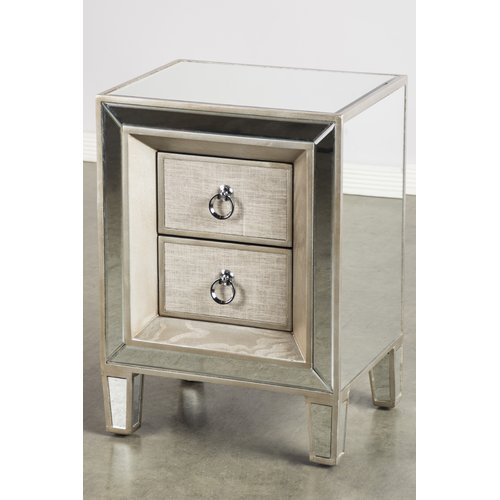 Statements by J Cassidy 2 Drawer Nightstand