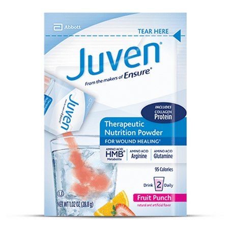 Juven Powder Single - Fruit Punch](Fruit Punch With Sherbet)