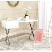 Safavieh Hanover Modern Glam Desk with Pull-Out Drawer
