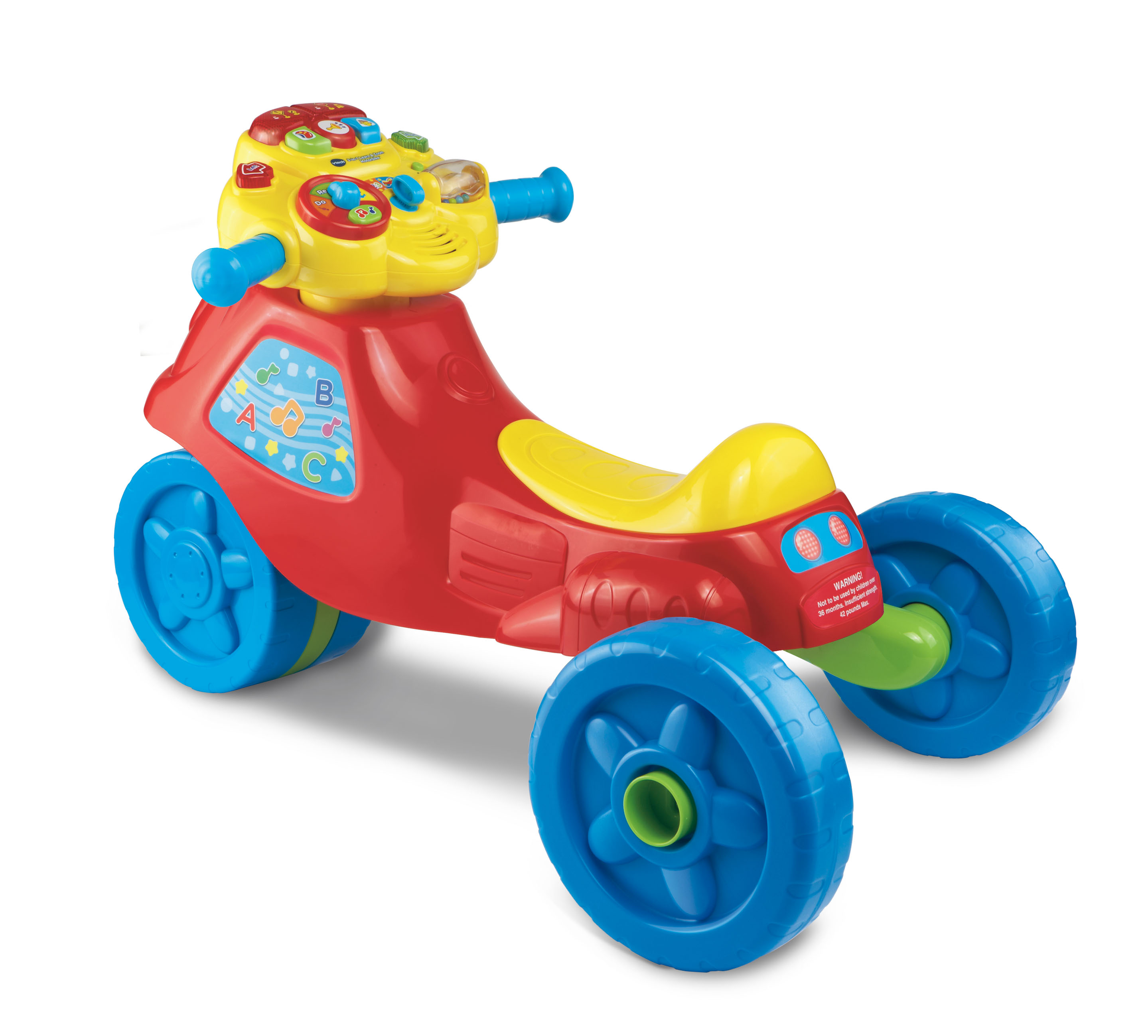 VTech® 2-in-1 Learn & Zoom Motorbike™