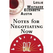 Notes for Negotiating Now - eBook