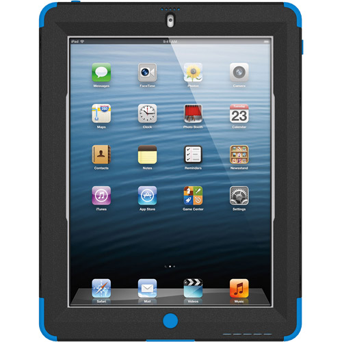 Targus SafePort Rugged Max Pro Case for iPad 2, 3, and 4, Blue (THD04402US)