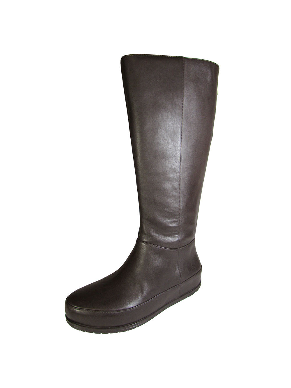 Fitflop Womens DueBoot Twisted Zip Knee High Boot Shoe