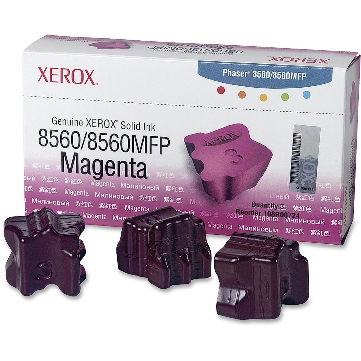 Xerox Solid Ink Stick, 3 / Box (Quantity)