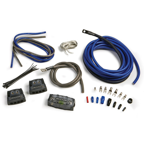 Kicker Dual 4-Gauge Amp Power Kit