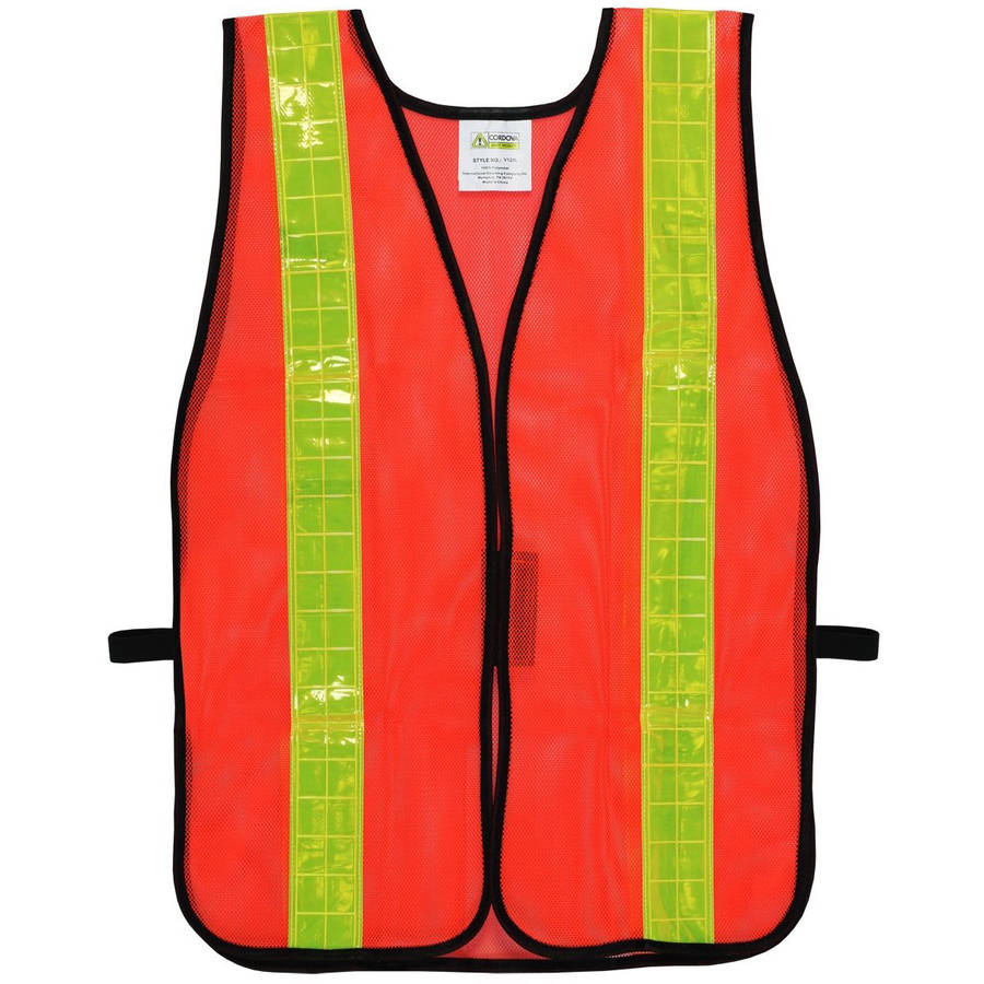 "Cordova Non-Rated Mesh Safety Vest with 2"" Reflective Tape"