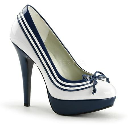 LOLITA-13, 5 Inch Heel 1 Inch Platform Pump Shoes for $<!---->