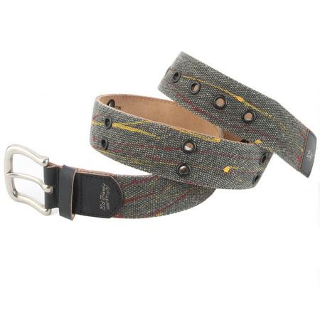 Ed Hardy Skull Belt (Ed Hardy EH3335 Womens Flutter Canvas Belt )