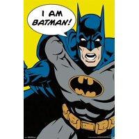 24x36 Batman - I Am Batman