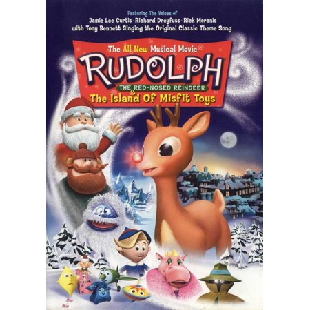 Rudolph the Red-Nosed Reindeer & the Island of Misfit Toys Movie Poster (11 x 17)