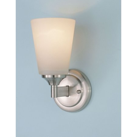 Feiss Gravity WB1249BS Wall Fixture - 4.5W in. - Brushed