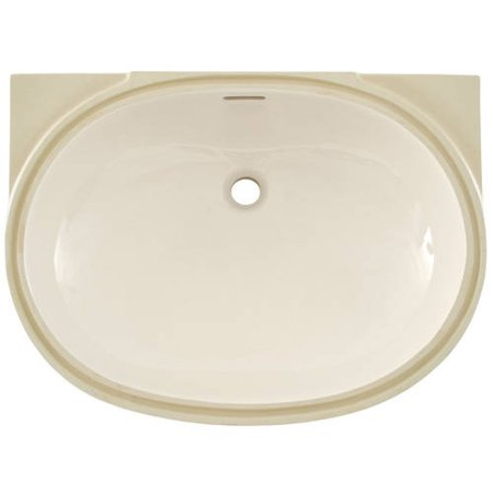 Toto Augusta Decorative 19 5 8 Undermount Bathroom Sink With Overflow And Sanagloss Ceramic