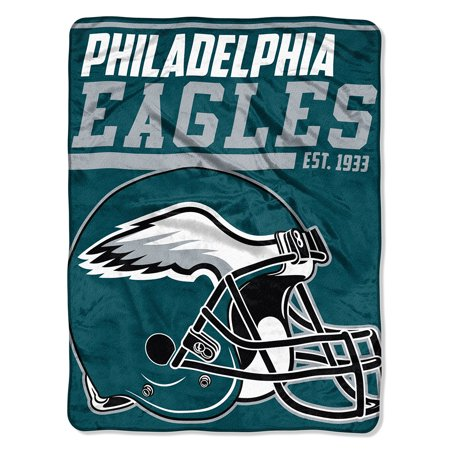 "- NFL Philadelphia Eagles ""40-Yard Dash"" 46""x 60"" Micro Raschel Throw"