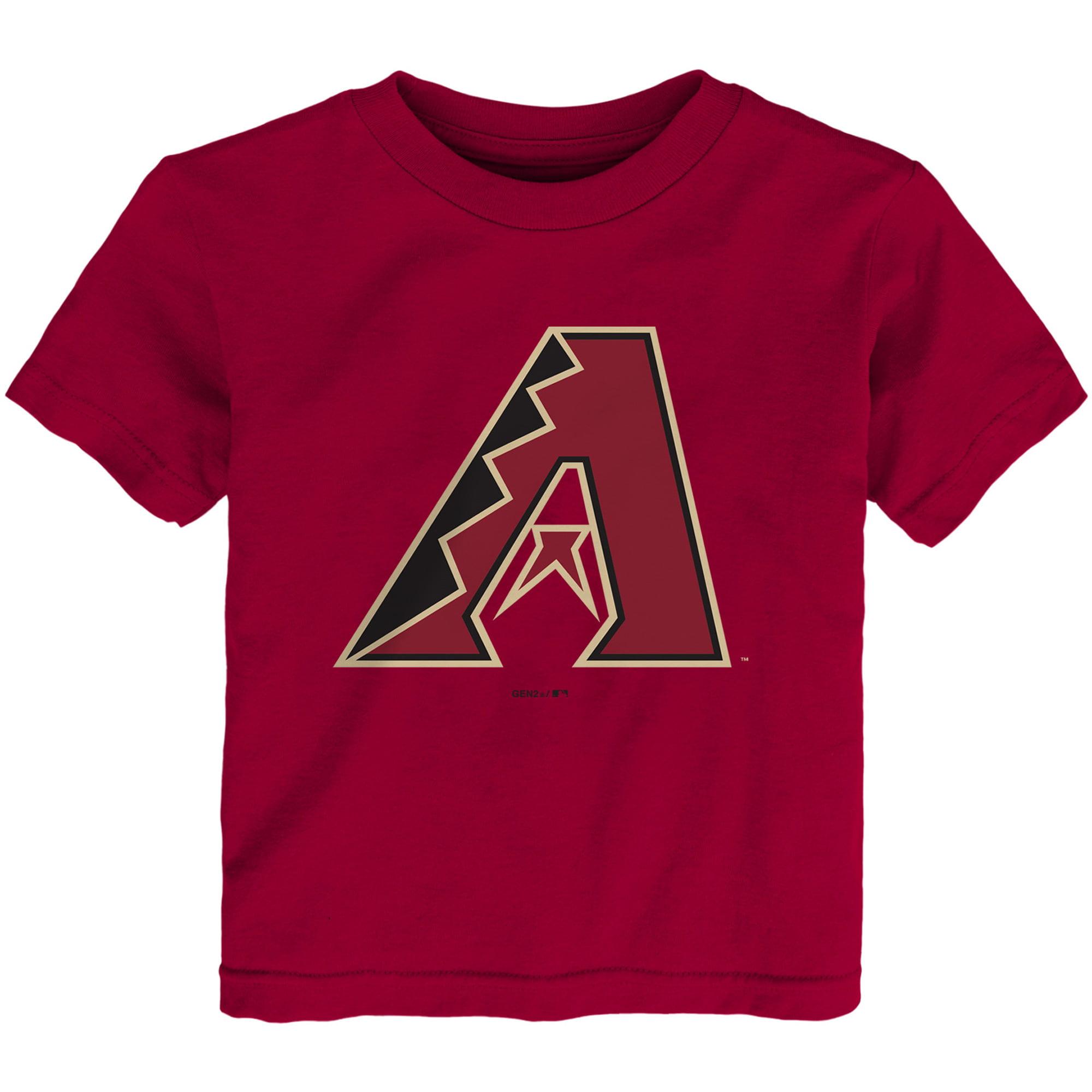 Arizona Diamondbacks Toddler Team Primary Logo T-Shirt - Red