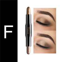 Topcobe Powder Eyeshadow for Makeup, TCWQ223 Beauty Highlighter Eyeshadow Pencil, Cosmetic Glitter Eye Shadow Eyeliner Pen for Women