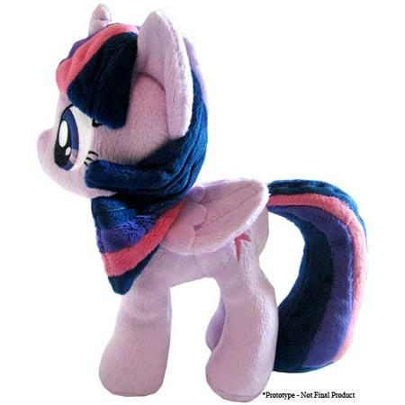 Princess Twilight Sparkle Plush Wings Closed 11 Inch My Little - Twilight Sparkle Plush